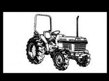 Buy KUBOTA L2650 L2950 L3450 L3650 L-2650 MANUAL for Tractor Operation & Service