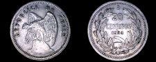 Buy 1938 Chilean 20 Centavo World Coin - Chile - Condor - Vulture
