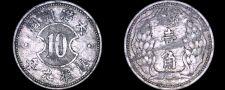 Buy 1942-KT9 Japanese Puppet States Manchukuo 1 Chiao World Coin - China - WWII Era