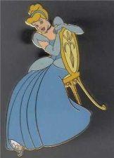 Buy Disney Cinderella Auctions (P.I.N.S.) in Blue Dress full body pin/pins