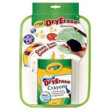 Buy Crayola Dry Erase Board Set Whiteboard Marker Office Presentation Draft Note