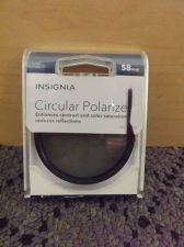 Buy INSIGNIA 58MM Circular Polarizer Glass Filter