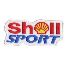 Buy SHELL SPORT LOGO SIGN, APPLIQUE IRON ON PATCH EMBROIDERED BADGE