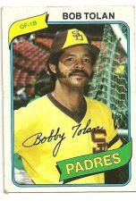 Buy 1980 Topps Bob Tolan San Diego Padres #708 Baseball Card