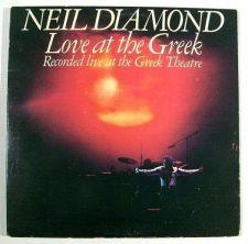 Buy NEIL DIAMOND ~ Love At The Greek 1977 DOUBLE Pop LP