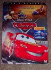 Buy CARS (2006) DVD MOVIE DISNEY PIXAR ~FULL FRAME~ w/ SLIP COVER *COMPLETE*