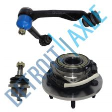 Buy 3 pc. Set Wheel Hub and Bearing, Upper Left Control Arm, Lower Ball Joint w/ ABS