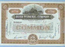 Buy New York na Stock Certificate Company: Bush Terminal Company ~17