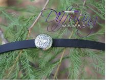 Buy Small Flower Diffusing Mama's Brand Essential Oils Aromatherapy Locket Bracelet