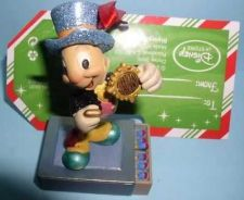 Buy Disney Jiminy Cricket Official Conscience standing on a match book ornament