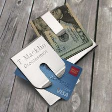 Buy Polished Money Clip/Credit Card - Free Personalization
