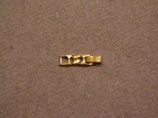 Buy Sarah Coventry Jewelry Sm. Foldover Extender Gold #1200