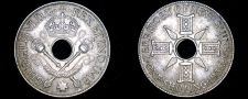 Buy 1938 New Guinea 1 Shilling World Silver Coin