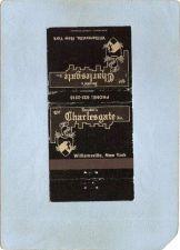 Buy New York Williamsville Matchcover Jacobbi's The Charlesgate Inc Restaurant~2434