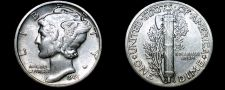 Buy 1941-P Mercury Dime Silver