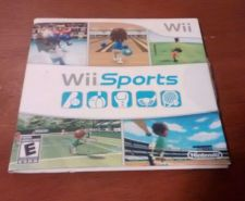 Buy Wii Sports (Wii, 2006) GOLF TENNIS BOWLING BOXING BASEBALL