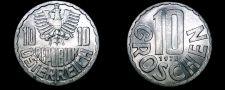 Buy 1973 Austrian 10 Groschen World Coin - Austria