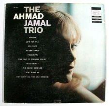 Buy AHMAD JAMAL ~ The Ahmad Jamal Trio 1956 Jazz LP