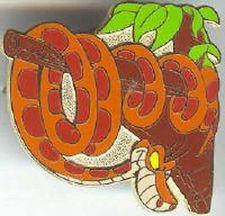 Buy Kaa snake Jungle Book Cast Lanyard Disney Authentic pin/pins