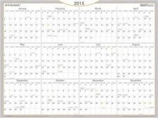 Buy Yearly Calendars Dry Erase Office Planners Home WallMates January-December 2015