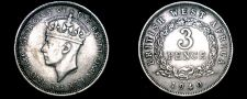 Buy 1940-KN British West Africa 3 Pence World Coin