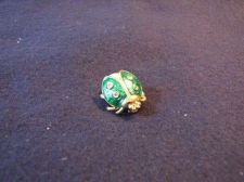 Buy Sarah Coventry Jewelry...Lady Bug Pin (Green) #1219