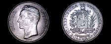 Buy 1967 Venezuelan 1 Bolivar World Coin - Venezuela