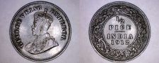 Buy 1912 Indian 1/2 Pice World Coin - India
