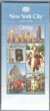 Buy New York New York City Road Map map_box1~14