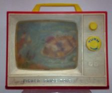 "Buy VINTAGE Fisher Price ""TV"" 1960's / Collectable Toy"