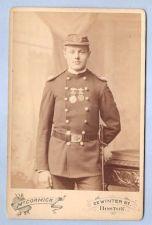 Buy Massachusetts Boston Cabinet Card Gentleman posing in dress uniform of The~2
