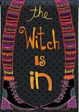 Buy BreezeArt Witch Is In Garden Flag 31302 Halloween Holiday Decor Outdoor Seasonal