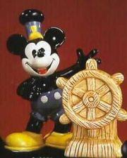 Buy Disney Mickey Steamboat Willie Salt & Pepper