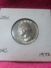Buy 1972 25C Washington Quarter Mint State GEM High Quality US Coin From Set