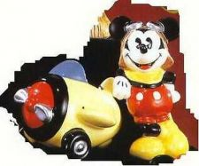 Buy Disney Mickey Airplane Pilot Salt & Pepper