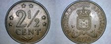 Buy 1974 Netherlands Antilles 2-1/2 Cent World Coin