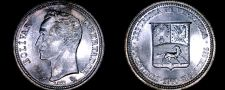 Buy 1960 Venezuelan 50 Centimos World Silver Coin - Venezuela