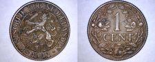 Buy 1942-P Curacao 1 Cent World Coin