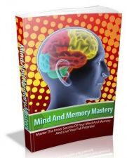 Buy Mind And Memory Mastery + 10 Free eBooks With Resell rights ( PDF )