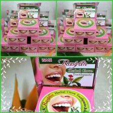 Buy 12x Rasyan Herbal Clove Toothpaste Anti Bad Breath Whitening Free Shipping