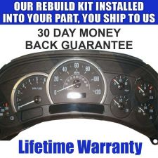 Buy 2005 CADILLAC ESCALADE INSTRUMENT CLUSTER REPAIR SERVICE READ LISTING