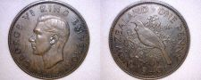 Buy 1940 New Zealand One Penny World Coin
