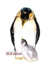 Buy New RUCINNI Swarovski Crystals BeJeweled PENGUIN Birds Trinket Jewelry BOX