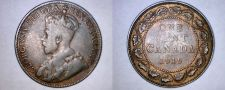 Buy 1919 Canadian 1 Large Cent World Coin - Canada