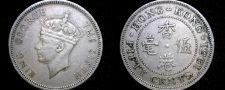 Buy 1951 Hong Kong 50 Cent World Coin