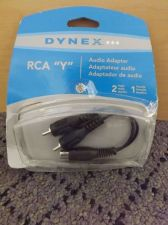 Buy DynexTM - RCA Y Audio Adapter dx-ad115