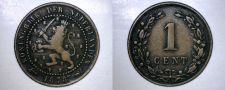 Buy 1878 Netherlands 1 Cent World Coin