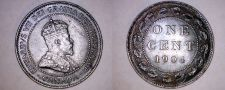 Buy 1904 Canada 1 Large Cent World Coin - Canada