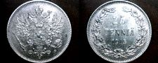 Buy 1915-S Finland 25 Pennia World Silver Coin Russian Admin