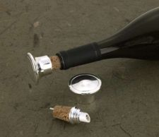 Buy Silver Plated Bottle Stopper/Pourer